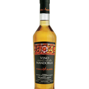 Vino Aromatizzato alla Mandorla (Pomilia – Calamia) 50cl prodotti tipici trapanesi e siciliani da Diego iltipico.net