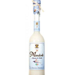 Liquore di Mandorle di Sicilia 50cl prodotti tipici trapanesi e siciliani da Diego iltipico.net