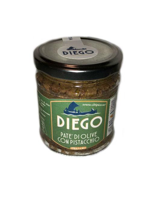 patè di olive con pistacchio