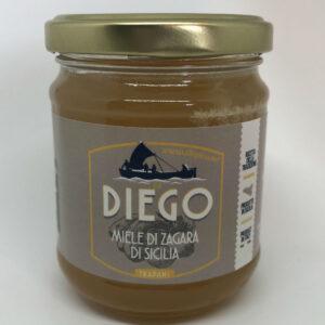 Miele di Zagara di Sicilia 250gr prodotti tipici trapanesi e siciliani da Diego iltipico.net