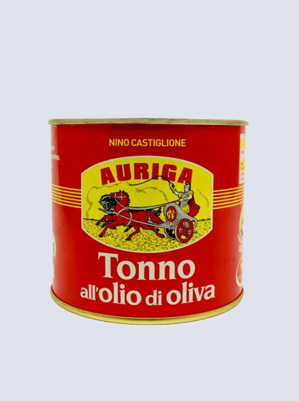 Tonno Auriga in Olio d'Oliva 620gr prodotti tipici trapanesi e siciliani da Diego iltipico.net