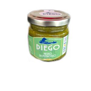 Pesto di Pistacchi 90gr prodotti tipici trapanesi e siciliani da Diego iltipico.net