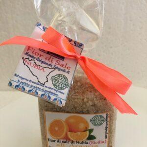 fior di sale aroma arancia prodotti tipici trapanesi e siciliani da Diego iltipico.net