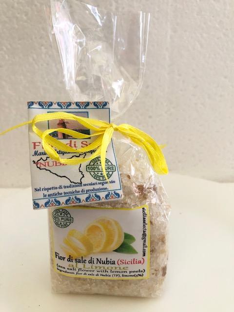 fior di sale aroma limone prodotti tipici trapanesi e siciliani da Diego iltipico.net