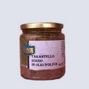 Tarantello di Tonno Rosso in Olio d'Oliva 300gr prodotti tipici trapanesi e siciliani da Diego iltipico.net